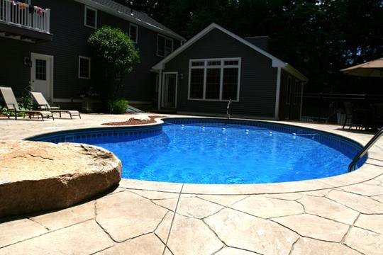 4A Kidney Inground Pool - Tolland, CT