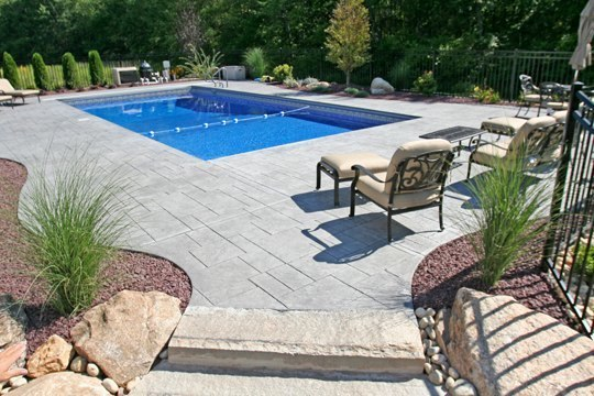 4A Rectangle Inground Pool