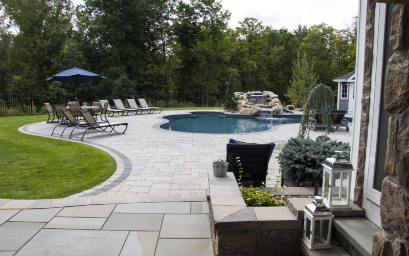 4B Custom Inground Pool - Rocky Hill, CT
