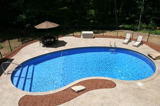 4B Kidney Inground Pool - Tolland, CT