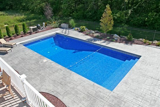 4B Rectangle Inground Pool