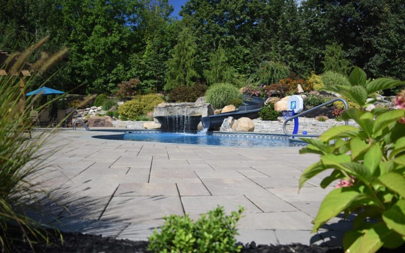 5C Custom Inground Pool - West Springfield, MA