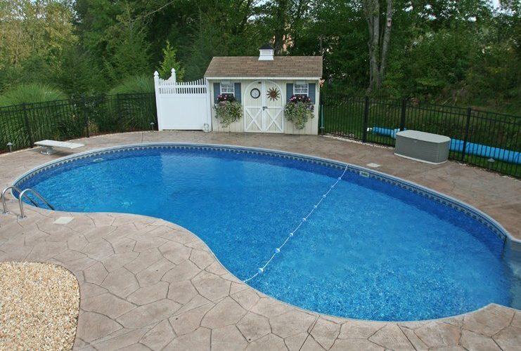 5D Kidney Inground Pool - Broad Brook, CT