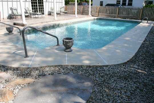 6C Rectangle Inground Pool