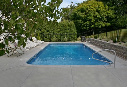 7C Rectangle Inground Pool