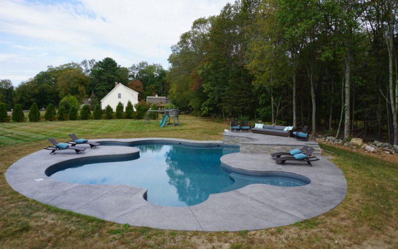 8A Custom Inground Inground Pool - Hebron, CT