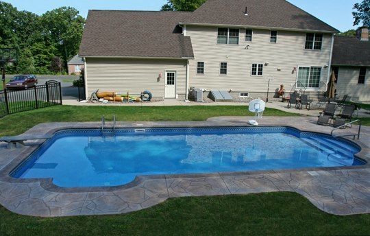 8A Patrician Inground Pool - East Longmeadow, MA