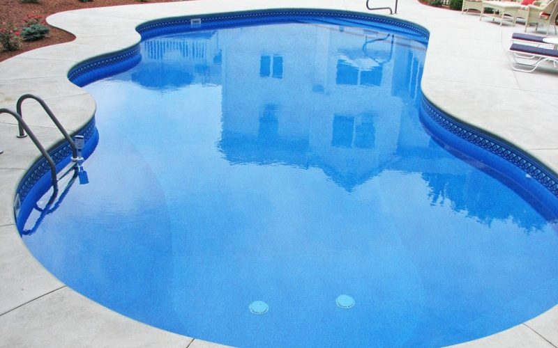 9A Custom Inground Inground Pool - Farmington, CT