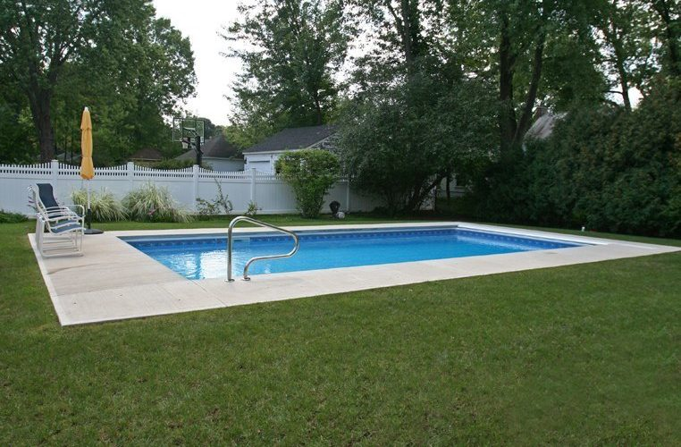 9A Rectangle Inground Pool