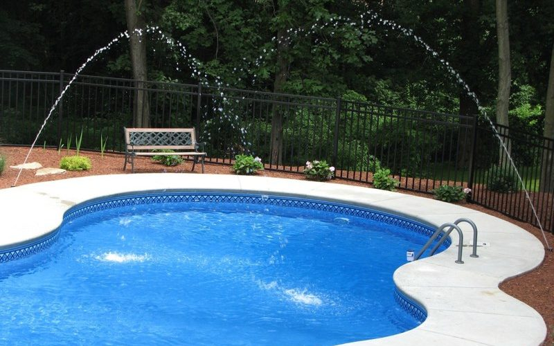 9C Custom Inground Inground Pool - Farmington, CT