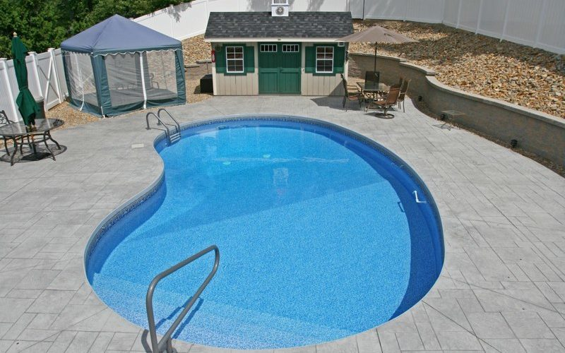 9C Kidney Inground Pool -Vernon, CT