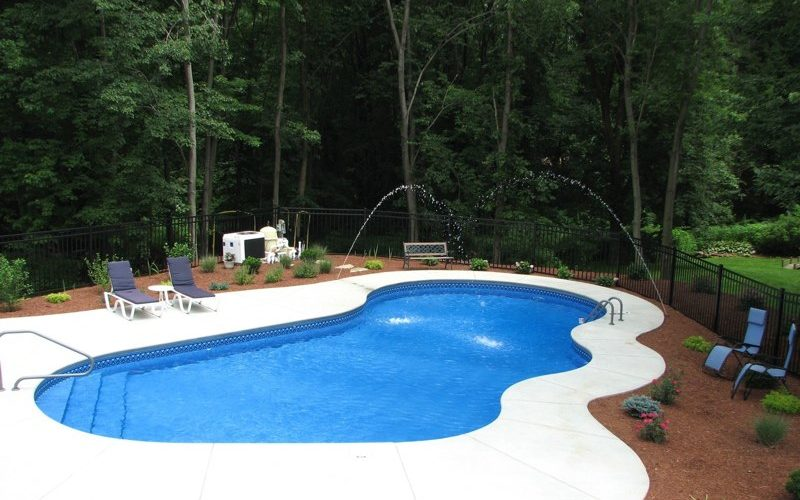 9D Custom Inground Inground Pool - Farmington, CT