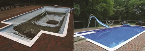 Pool Liner Replacement Western Mass