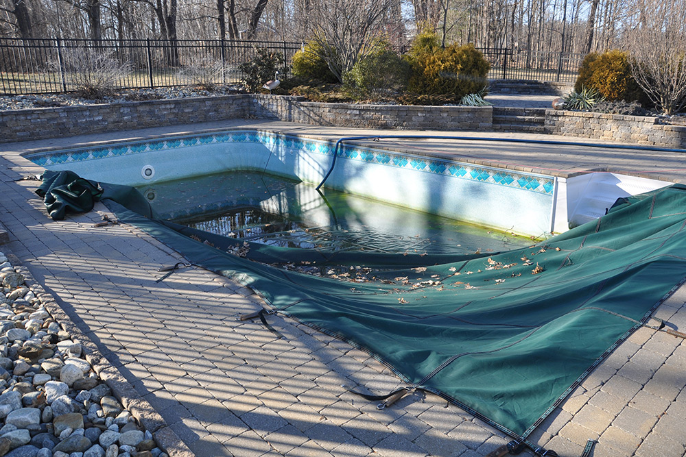 This is a before photo of a liner replacement project in Suffield CT